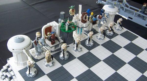 star wars empire strikes back chess lego