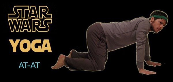 star wars yoga george lucas