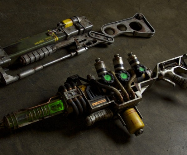 Fallout 3 Weapon Replicas: Too Bad They Don'T Actually Work