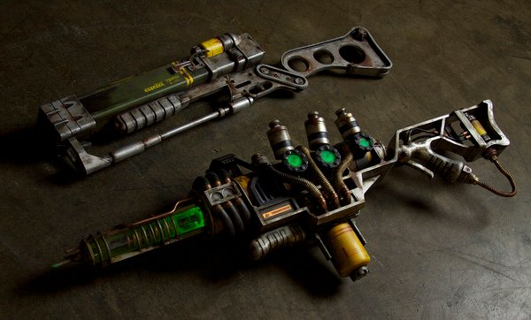 video game replica fallout 3 plasma rifle