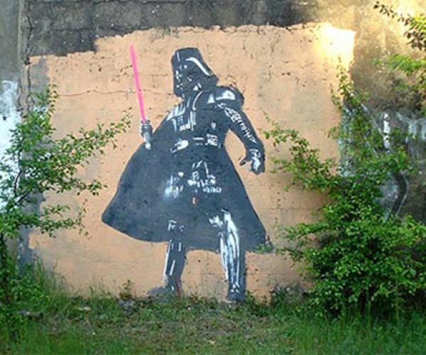 Star Wars Graffiti: the Empire Sprays Back