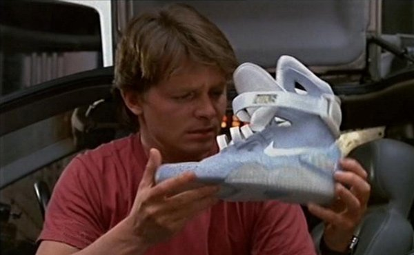 Image result for air mags marty mcfly
