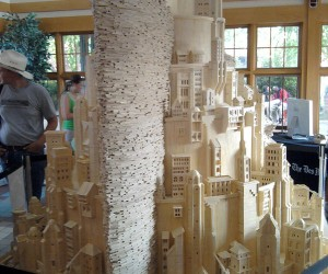 Matchstick Minas Tirith: Lord of the Sticks