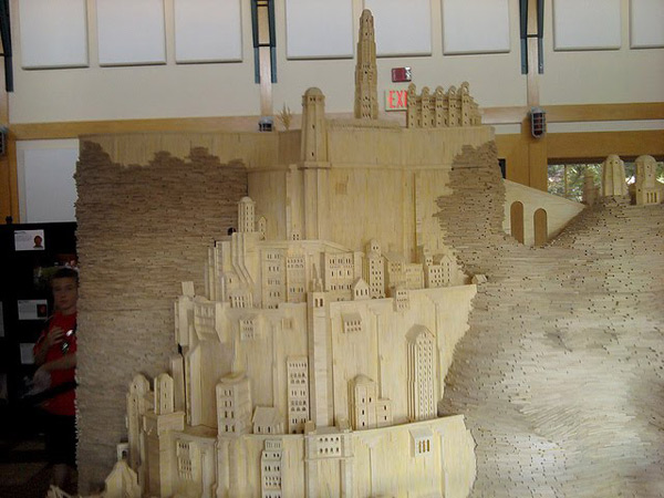 patrick acton minas tirith lord of the rings lotr