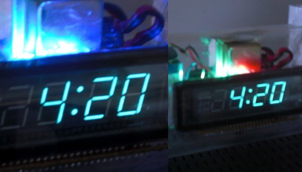 420 clock lights