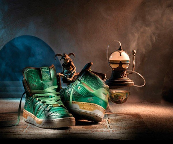 Adidas Jabba the Hutt Shoes: My Your Feet Are Slimy