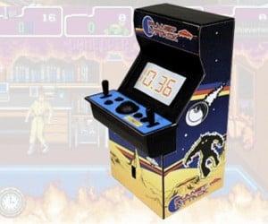 Arcade Cabinet Alarm Clock: Good Morning, Gamer!