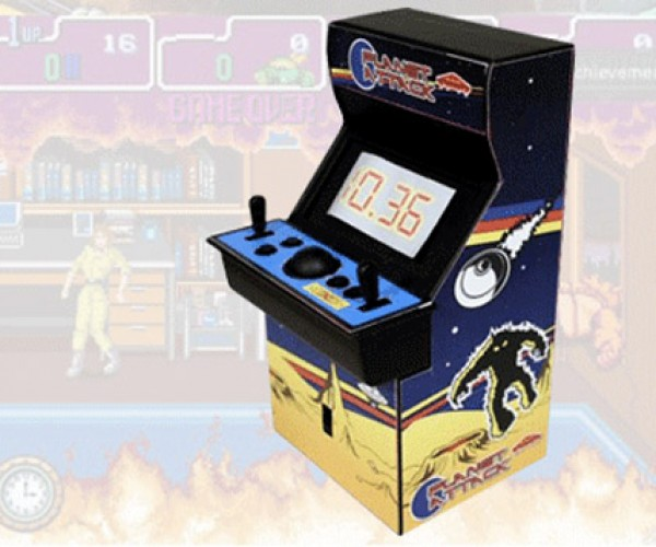 Arcade Cabinet Alarm Clock: Good Morning, Gamer!