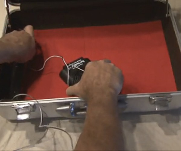 Booby-Trapped Briefcase Shocks Thieves, Forgetful Owners