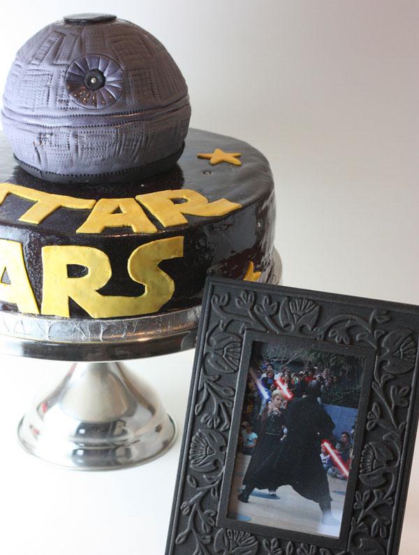 death star cake 1