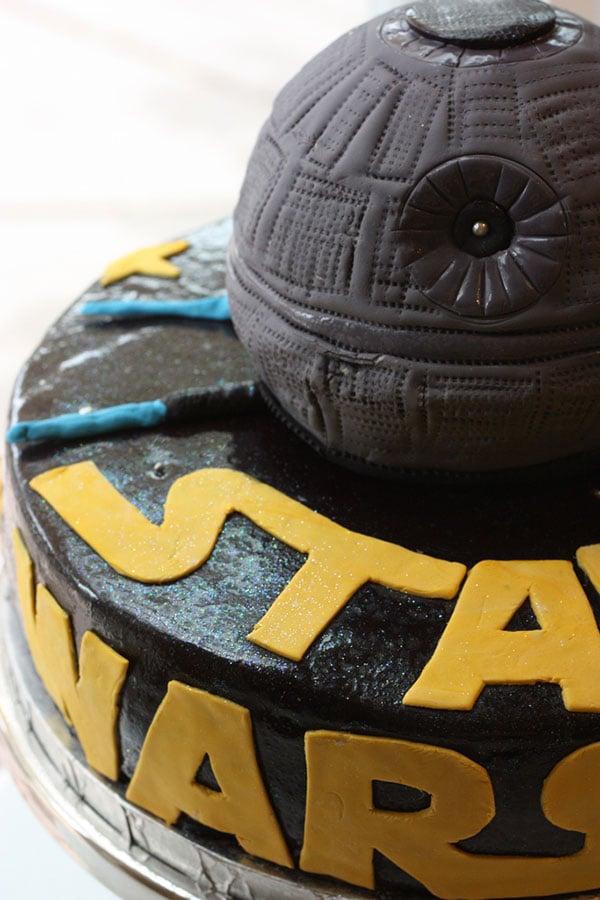 death star cake 2