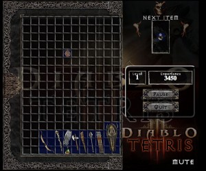 Diablo Tetris Brings Back Nightmares
