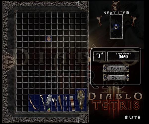 Diablo Tetris Brings Back Nightmares