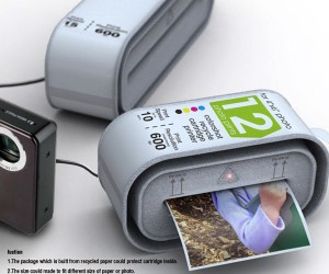 Disposable Printer Concept: Like a Polaroid, Only Completely Different
