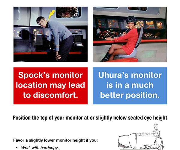 Spock'S Monitor Location is Illogical