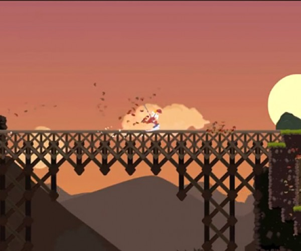 Dustforce!: Leap and Sweep Platforming