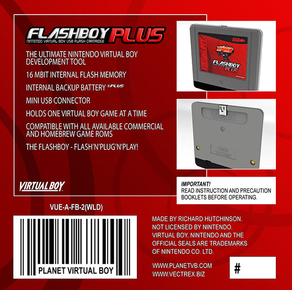 flashboy plus virtual boy cartridge 2