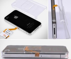 Dual Sim Case for iPhone 4 Lets You Switch Networks on the Fly