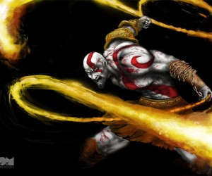 Kratos Speed Painting: the Gods of War Approve