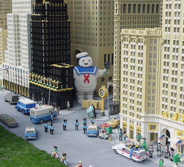 how to build a lego stay puft marshmallow man