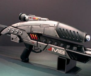 Epic Mass Effect DIY M8 Assault Rifle Prop Rocks Hard