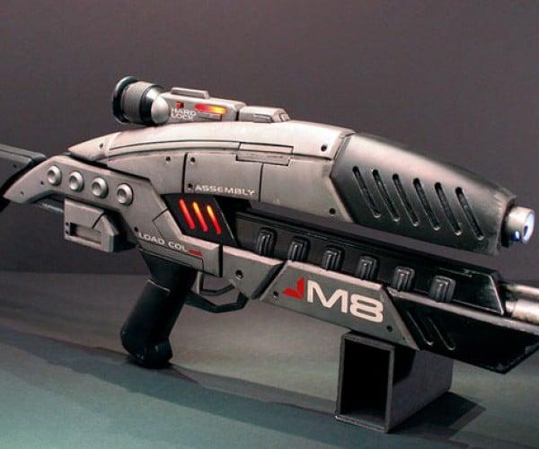 Epic Mass Effect DIY M8 Assault Rifle Prop Rocks Hard