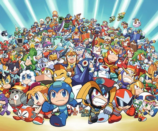 The Mega Man Megaposter