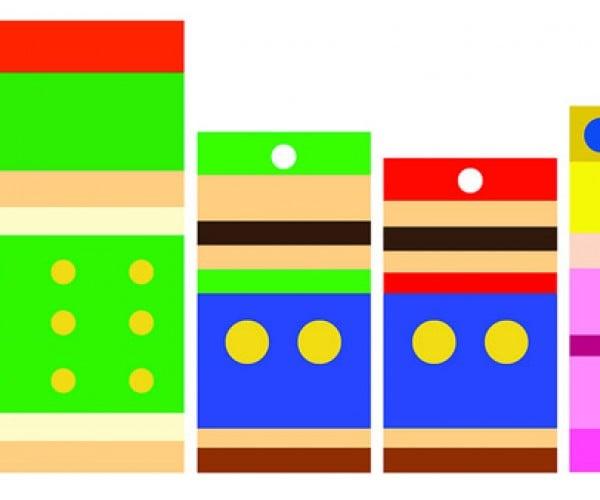 Minimal Mario and Simplistic Street Fighter