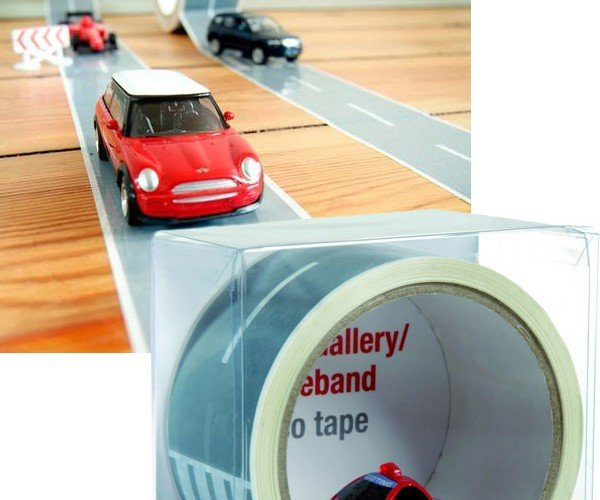 My First Autobahn Tape Turns Any Surface Into a Race Track