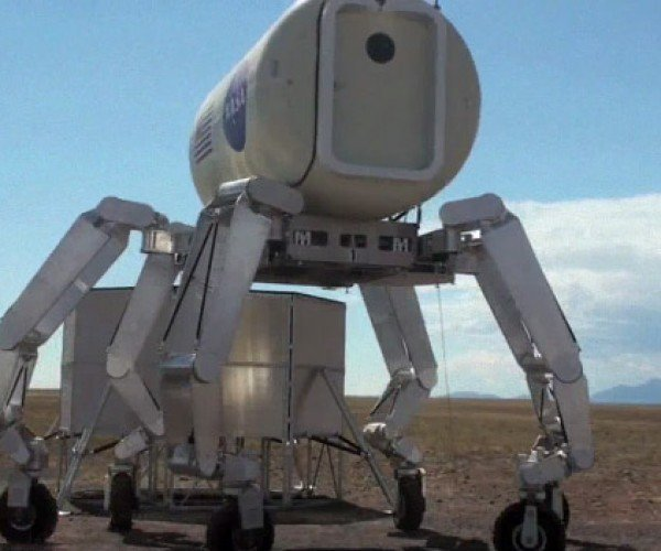 Nasa Athlete Robot Breaks Out the Dance Moves