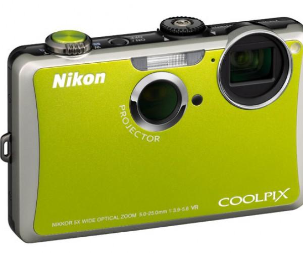 Nikon S1100pj Digital Camera Adds Built-in Projector