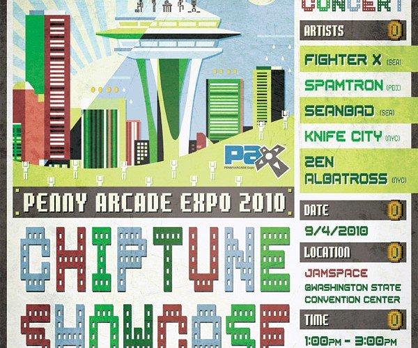 Chiptune Showcase Comes to Pax 2010