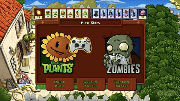 Plants vs zombies on xbla do the undead make for good fertilizer