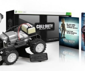 Epic Call of Duty Black Ops Prestige Edition Includes Working Surveillance Car