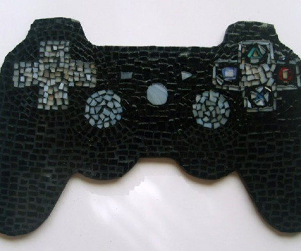 Mosaic Tile Video Game Controllers: No Grout About It
