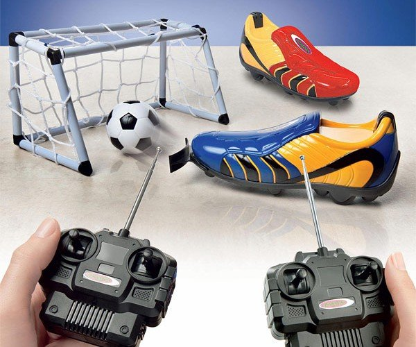 Remote Control Soccer Cleats: Why? Why Not?