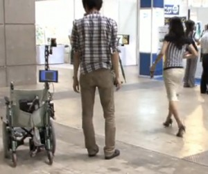 In Japan, the Wheelchairs Follow You