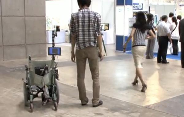 robot wheelchair saitama university