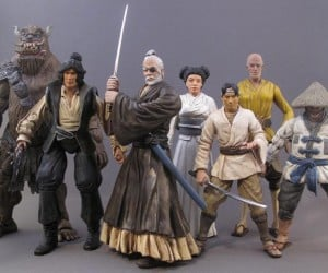 Samurai and Steampunk Star Wars: in an Alternate Universe, in a Galaxy Far, Far Away…