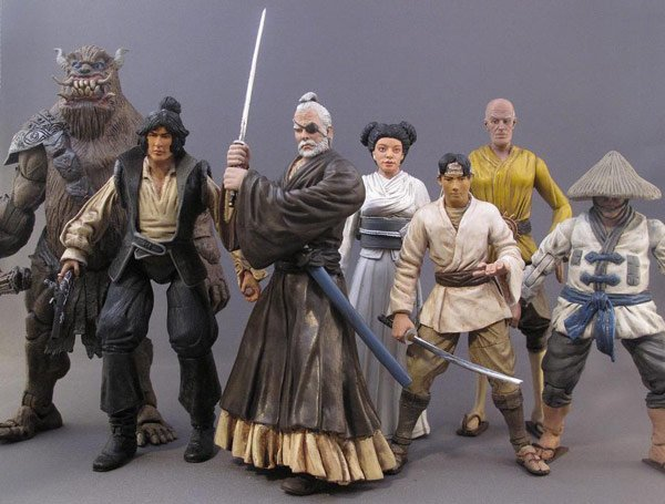 samurai wars japanese star wars