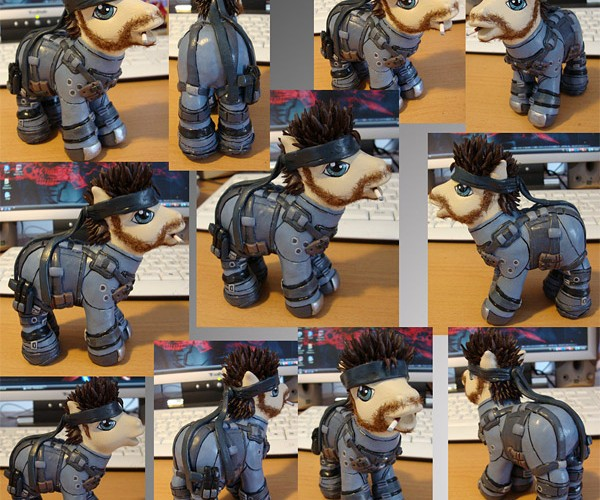 My Little Solid Snake Pony