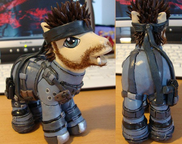 solid snake my little pony 2