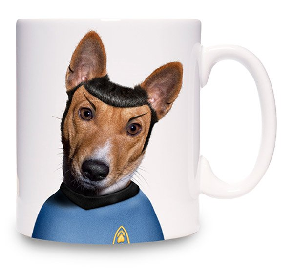 spock dog mug weird mugs