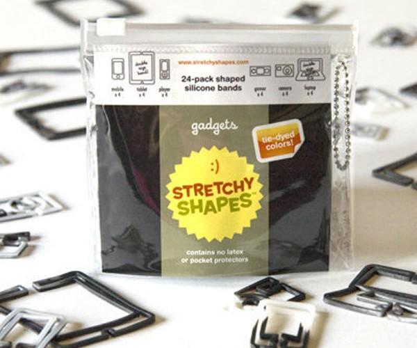 Stretchy Shapes Rubber Band Bracelets Shaped Like Gadgets