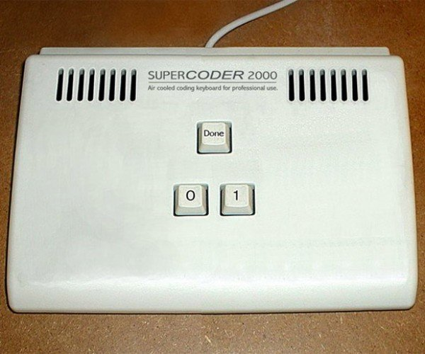 Supercoder 2000 Keyboard: Binary Solo….