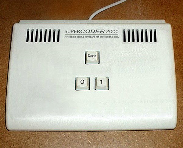 supercoder 2000 binary keyboard