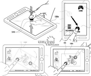 Samsung Tablet Patent Shows Double Sided Input