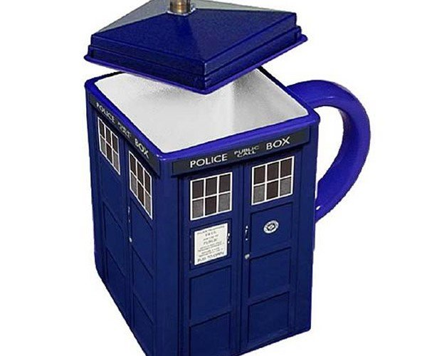 Doctor Who Tardis Sends Your Coffee Across Time and Space