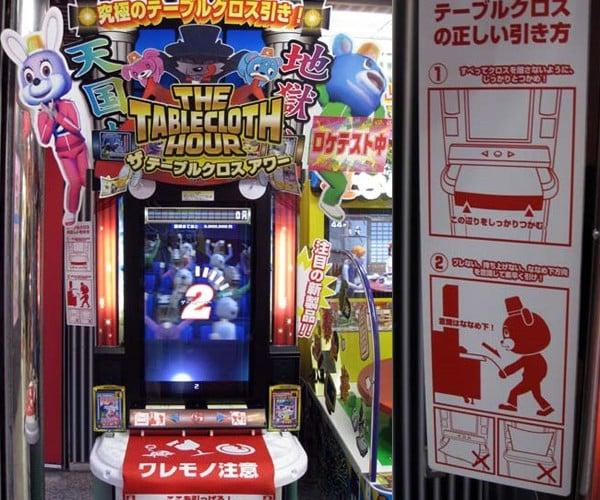 The Tablecloth Hour: Weird Japanese Game Du Jour