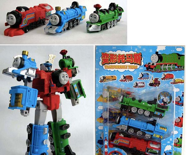 Thomas the Tank Transformer: the Epic Knockoff
